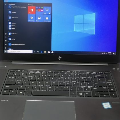 Uk used Hp Zbook Studio G4 – 7th Gen – Intel Core i7 – 8gb ram – 256ssd – Super fast working system